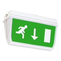 Axiom IP65 Exit Sign