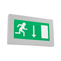 maxim slimline led exit sign