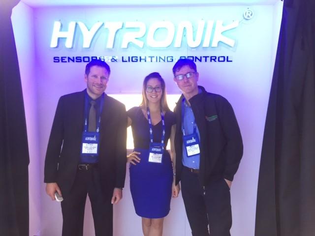 Richard Faulkner, Mel Dowding (Hytronik), David Vaughan (Lightsolutions)
