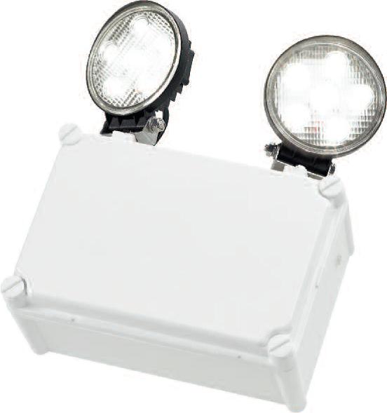IP65 LED Twinspot emergency lighting ireland